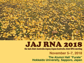 2nd JAJ (Joint Australia-Japan/Japan-Australia Joint) RNA Meeting