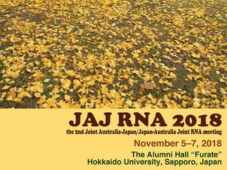 2nd JAJ (Joint Australia-Japan/Japan-Australia Joint) RNA Meeting