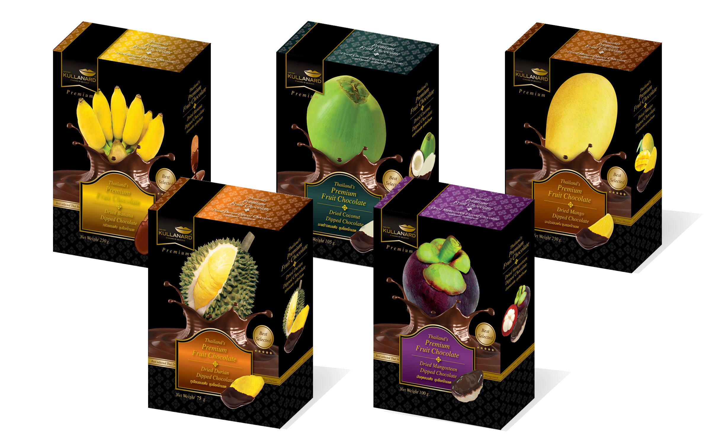 Dried Fruits Dipped Chocolate