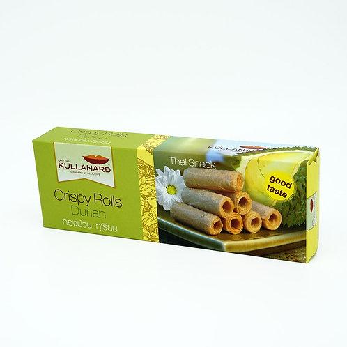 Crispy Rolls Durian ทองม้วนทุเรียน 80 G