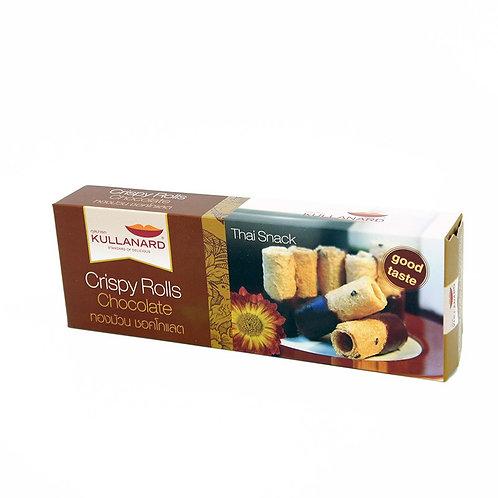 Crispy Rolls Chocolate ทองม้วนช็อคโกแลต 95 G
