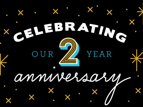 Our 2nd Birthday!