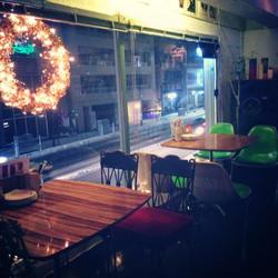 エディカフェの風景 -冬-