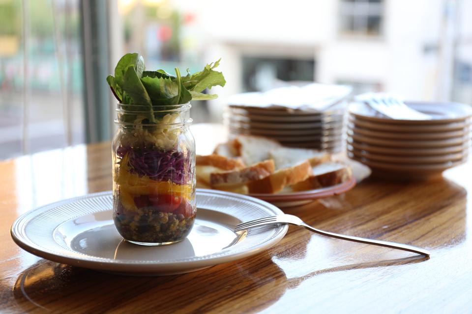 Mason jar Salad|¥800