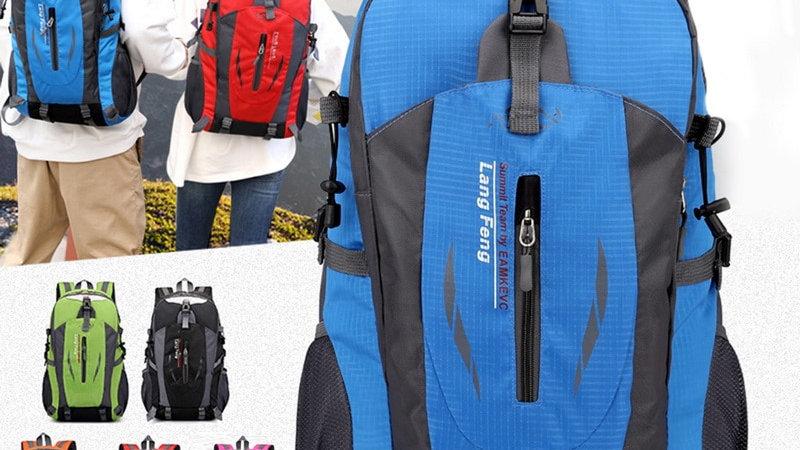 40L Waterproof Travel Backpack