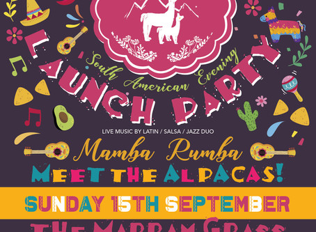 ANGLESEY ALPACAS LAUNCH PARTY!