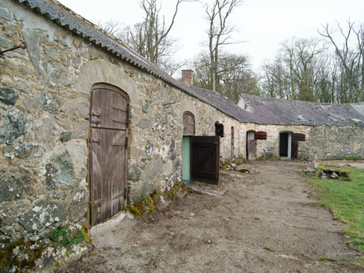 The renovation of the barns at Henblas Country Park