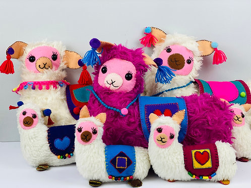 Handmade Alpaca Soft Toy