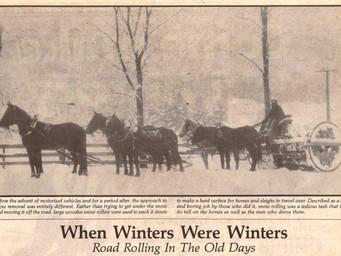 When Winters Were Winters