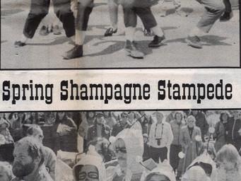 Spring Shampagne Stampede