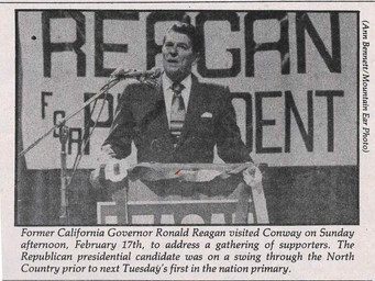 Ronald Reagan Quickens the Pace