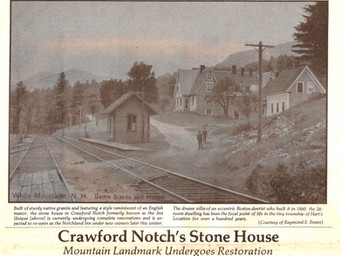 Crawford Notch's Stone House