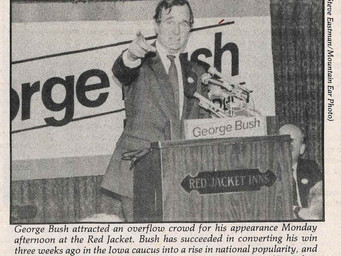 George Bush Discusses the Issues