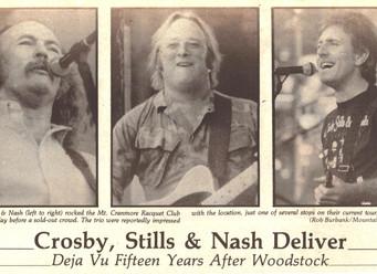 Crosby, Stills & Nash Deliver