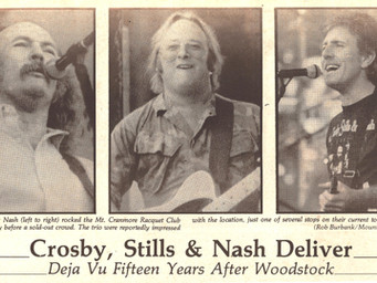 Crosby, Stills & Nash Deliver
