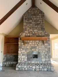 Natural Stone - Kansas Native, Marmalade, English Gray