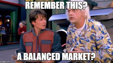 A Balanced Market? It Was The Best of Times.