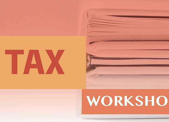 TAX操作系统 Workshop-线上培训