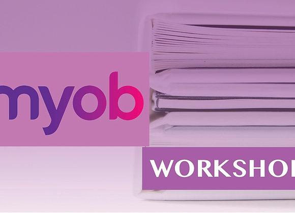 MYOB Workshop -线上培训