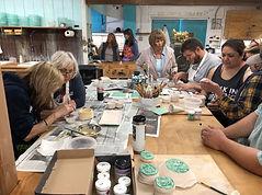 teaching hand building class