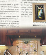 Magazine article with installation of ba