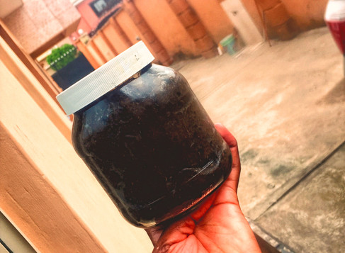MY LOW BUDGET BLACK SOAP