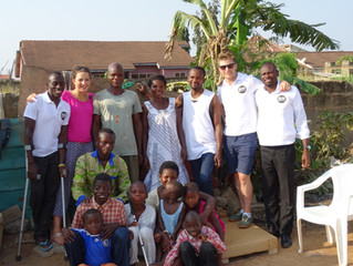 Foundation members visit our projects in Ghana