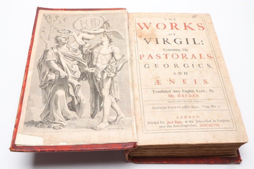 The Works Of Virgil: Containing His Pastorals, Georgics, And Æneis: Adorn'd With A Hundred Sculpture
