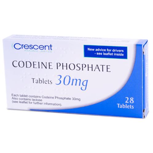 Codeine Phosphate 30mg & 60mg Pills
