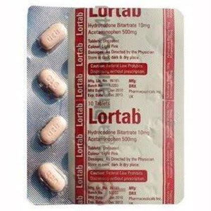 Lortab 10/500 (hydrocodone/acetaminophen)
