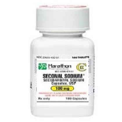 Seconal (Secobarbital Sodium) 100mg