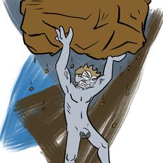 Watch for falling rocks