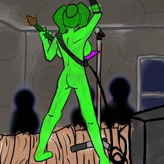 Naked rockstar