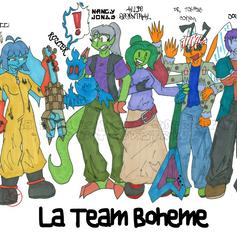 Allie's Team circa 2009