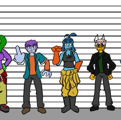 Allie's Team Height Chart