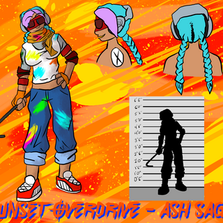 Origin Art: Ash Sage