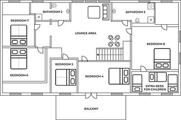 Floorplan upstairs