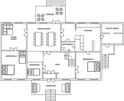 Floorplan downstairs
