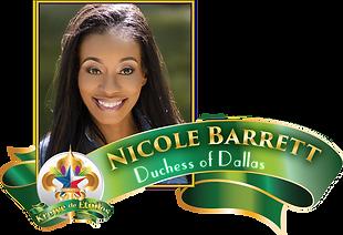 Nicole Barrett 2017 Krewe de Etoiles Duchess