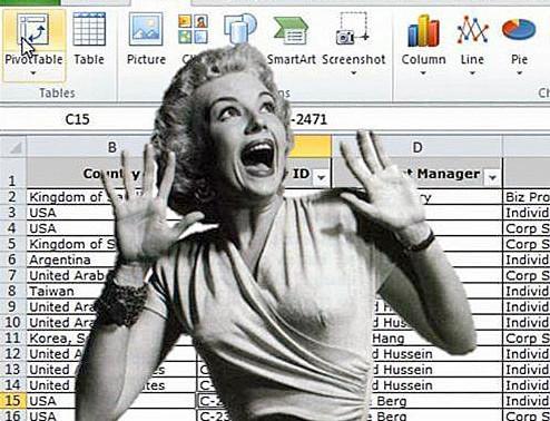 Nightmare on Spreadsheet