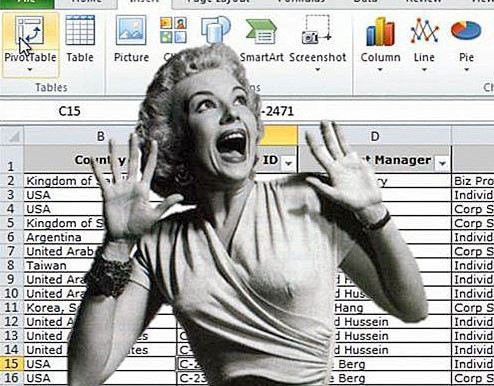 Nightmare on Spreadsheet