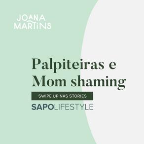Palpiteiras e Mom Shaming