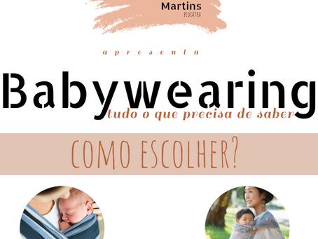 A propósito do Babywearing