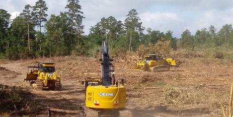 950 Dozer 850 Dozer 245 Excavator Cleari