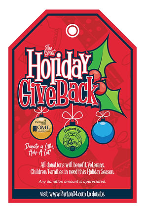2020 The Great Holiday Giveback Tree Tag