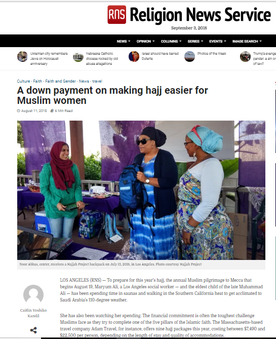 The Hajjah Project in the News