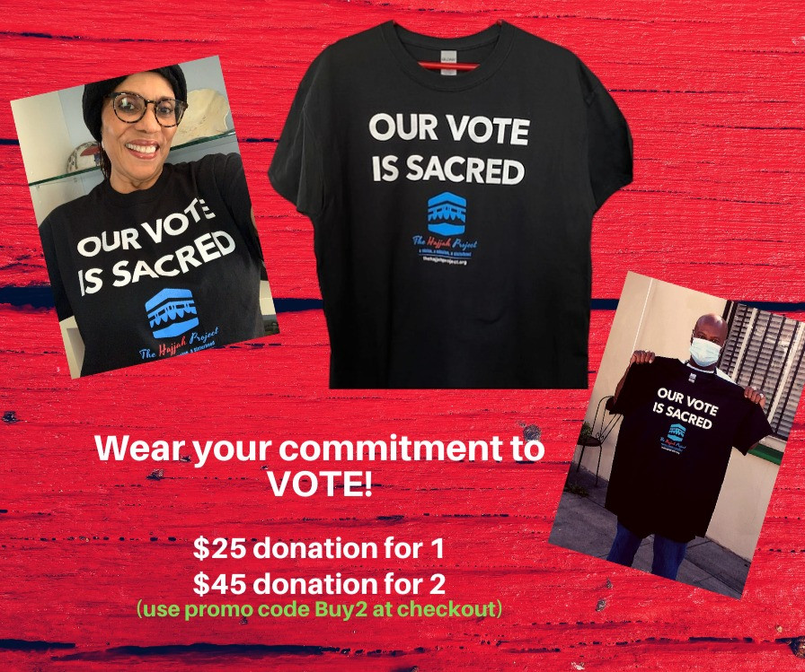 A T-Shirt for All - Our Vote is Sacred
