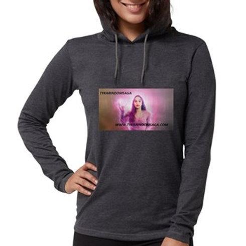Ty Women's Hooded Shirt Long Sleeve T-Shirt