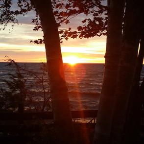 Sunrise Over Superior