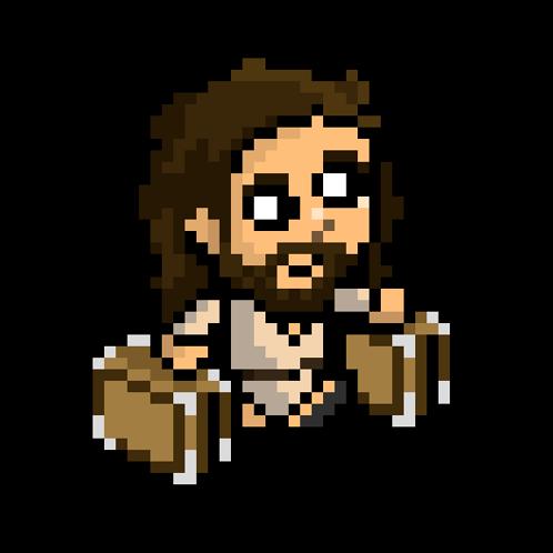 Jesus Pixel Sprite